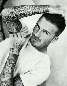 Tattoo David- beyond sexy. real life Christian Grey