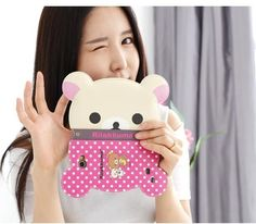 Hot!!! Lovely Hello Kitty Twin Stars Melody Rilakkuma Mirror Card Hold Wallet Leather Case Cover For Apple iPhone 5 5S 50pcs/lot - Pesquisa Google