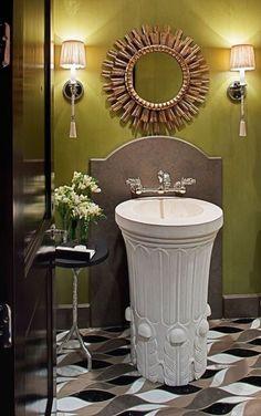 Ванные комнаты в стиле ар-деко – Вдохновение
