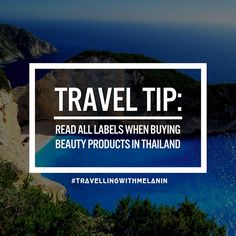 TRAVEL TIP: I know that you all love your melanin glow but there is a common belief in some Asian countries that having fairer skin is more attractive. A lot of the beauty products in Thailand have whitening ingredients - even for the intimate area!  Always read the labels and don't be afraid to ask for products that don't whiten your skin. #traveltipthursdays #tips #travel #travelling #instatravel #holiday #tourism #instapassport #mytravelgram #igtravel #wanderlust #traveller #melanin…