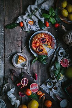Winter Citrus Upside Down Cake by Eva Kosmas Flores | Adventures in Cooking by Eva Kosmas Flores, via Flickr