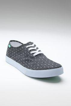 Grey starry sneakers