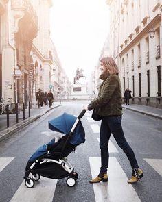 @Emiliebrunette #BABYZEN #YOYObyAirFrance #Paris #Streestyle Best Twin Strollers, Baby Strollers, The Brunette, Air France, Paris, Future Baby, Twins, Ootd, Instagram