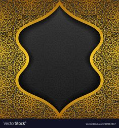 Floral background with traditional ornament vector image on VectorStock Powerpoint Background Templates, Ramadan Background, Thai Pattern, Islamic Calligraphy, Caligraphy, Ramadan Crafts, Framed Wallpaper, Invitation Background, Flower Decorations