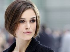 good neutral makeup but not boring; chanel keira knightley