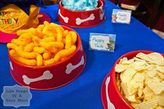 My twins just turned 4 and they are obsessed with Paw Patrol! Currently there isn't much out there for Paw Patrol party supplies, so I ...