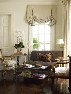 I love curtains on pinterest window treatments valances for Old world window treatments
