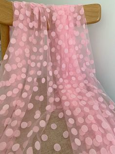 Pink Tulle, Tulle Lace, Pink Lace, White Lace, Pink Soft, Blush Pink, Bridal Lace Fabric, Embroidered Lace Fabric, Tulle Fabric
