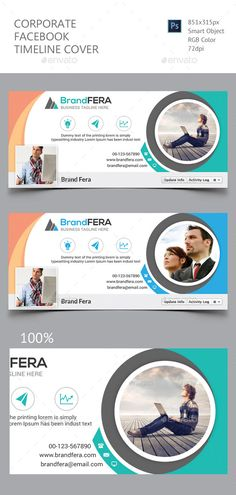 Corporate Facebook Timeline Cover Template PSD #design Download: http://graphicriver.net/item/corporate-facebook-timeline-cover/11760875?ref=ksioks