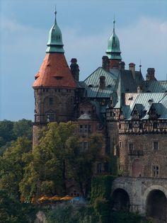 Książ Castle, Poland. https://www.minds.com/newsfeedKsiąż