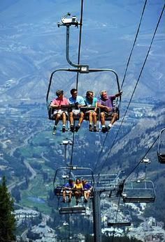 Vail, Colorado...shouldn't they be in snow gear? Here's some events you don't want to miss this summer http://www.myrockymountainpark.com/2013/03/events-and-festivals-2013/