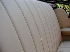 Renowacja tapicerki w zabytkowym Mercedesie - Upholstery renovation in historic Mercedes-Benz
