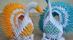 Origami Koleksiyonu - Japon kağıt katlama sanatı (Origami), bir koleksiyon gösterisi