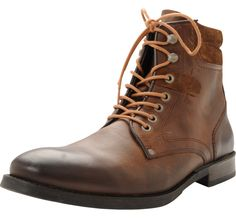 Bruce Leather Boot