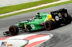 Giedo van der Garde, Caterham, Formule 1 Grand Prix van Maleisië 2013, Formule 1