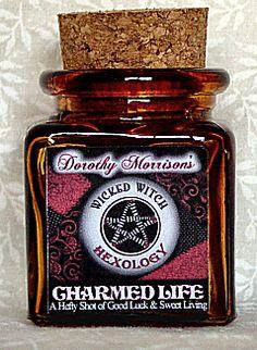 Dorothy Morrison's Charmed Life Hexology Jar