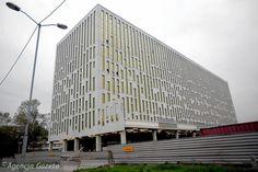 Biurowiec Silesia Star przy al. Roździeńskiego w Katowicach