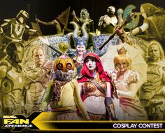 Announcing the Salt Lake Comic Con FanXperience 2015 Cosplay Contest! Saturday, January 31 at 6:00pm. Click image to learn about the competition categories, registration, and contest rules. Registration deadline is January 11. New This Year: Youth Division and Costume Category!