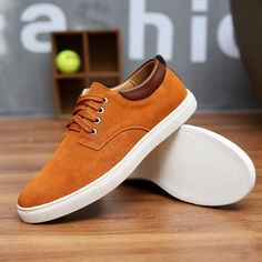 Cheap men canvas shoes, Buy Quality men canvas directly from China canvas shoes Suppliers: 2016 New Arrival Wholesale Hot Sale Spring fashion suede Mens Shoes Mens canvas shoes leather Casual Breathable Shoes flats Free Mens Canvas Shoes, Suede Leather Shoes, Men's Leather, Canvas Leather, Leather Sneakers, Waterproof Shoes, Everyday Shoes, Fashion Shoes, Fashion Fashion