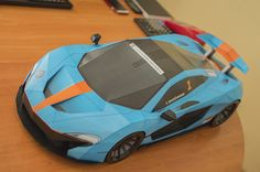 Check this custom McLaren P1 #supercar inspired #paper #model built by Kestutis Puriuskis of Lithuania from http://visualspicer.com/store/mclaren-p1-diy-paper-super-craft-model/