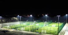 MUGA Pitch Floodlights