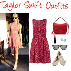 """""""Taylor Swift Outfits"""" by mellanicputri on Polyvore"""