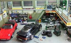 Porsche Automotive Dioramas