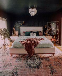 Room Ideas Bedroom, Home Bedroom, Bedroom Decor, Bedrooms, Art Deco Interior Bedroom, Aesthetic Room Decor, Home And Deco, Dream Rooms, My New Room