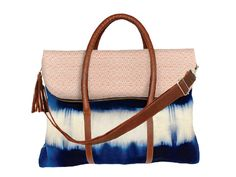 Beautiful weekender bag! hand-dyed and made by local female artisans in Guatemala through a company called Mercado Global