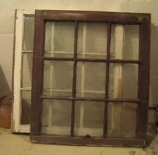 Old window frames that I want so badly so I can make a wall hanging. Wish I could find some!