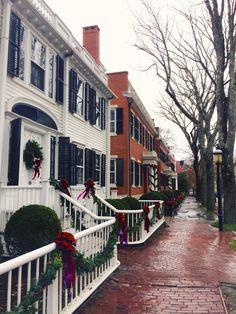 Even in the rain, Nantucket shines....