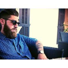 Stefano wearing Epos sunglasses! #epos #style #shades
