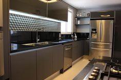 COZINHA 2: Cozinhas modernas por ALME ARQUITETURA