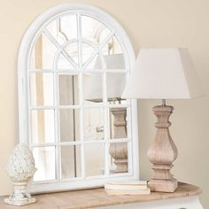 [product_name] from Maisons du Monde. White Mirror, Room Decor, Wall Decor, Shop Interiors, My Room, Interior Styling, Decoration, Home Accessories, Home Furniture