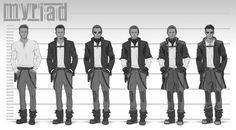 Myriad: Character Concepting, John Grello on ArtStation at https://www.artstation.com/artwork/nWx1K