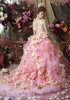 Sexy Fetish - Dresses, Skirts & Gowns V Lovely Dresses, Flower Dresses, Beautiful Gowns, Prom Dresses, Bridal Gowns, Wedding Gowns, Pnina Tornai, Fairytale Dress, Fantasy Dress