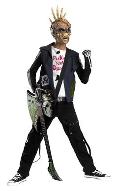 Spiffy Boy's Punk Zombie Costume. Ultimate group of Zombie Costumes for Halloween at CostumePub. Homemade Mermaid Costumes, Homemade Halloween Costumes, Halloween Kostüm, Couple Halloween Costumes, Zombie Costumes, Pirate Costumes, Costume Ninja, Spiderman Costume, Halloween Office