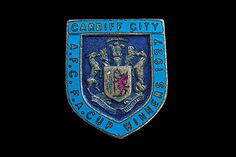 Cardiff City 1927 F.A. Cup Winners badge. Only problem was that they beat Arsenal! :(