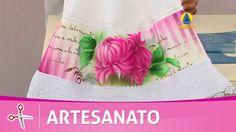 Vida com Arte | Toalha com Crisântemo por Rosa Ferreira - 29 de Setembro...
