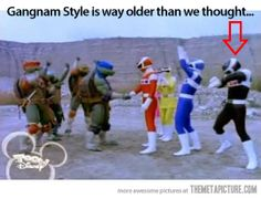 Gangnam Style goes a long way back…