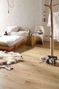 MEISTER Laminat LS 300 | Risseiche hell 6258 | Holznachbildung — MEISTER laminate flooring LS 300 | Light cracked oak 6258 | Wood effect