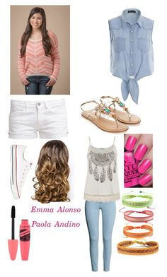 """Emma Alonso/Paola Andino (every witch way)"" by naty2003 ❤ liked on Polyvore"
