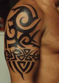 coolTop Tattoo Trends - Tribal Band Tattoos For Men