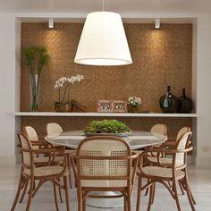 Projeto Fernanda Moreira #assimeugosto #saladejantar #decoração #interiores #interiordesign