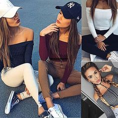 Fashion  Women Slim Off Shoulder Shirt Crop Tops Long Sleeve Blouse Vgy