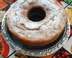 Si querés preparar una torta sencilla para acompañar el mate, té o café, anotá la receta de esta torta de manzana 20 cucharadas. Yami Yami, Bagel, Doughnut, Bread, Desserts, Food, Gastronomia, Moist Cakes, Apple Recipes