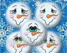 Image result for Printable Snowman Face Pattern