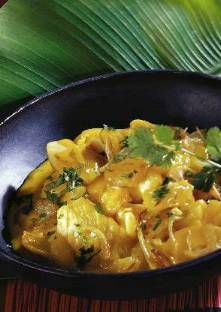 Recette de Curry de poisson