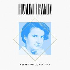Rosalind Franklin 1920-1958 An expert in x-rays Rosalind Franklin captured the first-known photo of the double helix. The scan Photo 51 was sent without her knowledge to scientists James Watson and Francis Crick who used it to prove the correct structure of DNA. They published a series of articles in Nature in April 1953. Several years later Watson Crick and Maurice Wilkins whod shared the photo were awarded the Nobel Prize for the discovery. Franklin was not recognized. #DayWithoutAWoman…