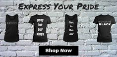 Express your black pride with our graphic t-shirts! Shop queennefertitiscloset.com Blacktivist. Pray for our Kings. Fist in the air. Unapologetically Black.